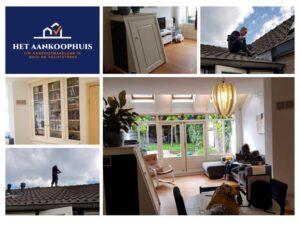 bouwkundige keuring op het dak